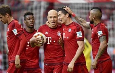 Бавария отправила четыре  сухих  мяча в ворота Штутгарда