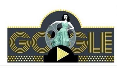Google посвятил дудл актрисе и изобретательнице Хеди Ламарр