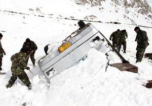 Число жертв лавин в Афганистане продолжает расти