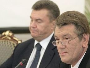 Ющенко призвал ПР не действовать по плану Москвы или Медведчука
