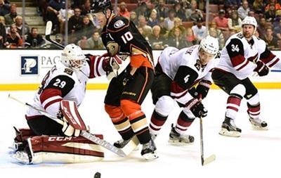 NHL: Аризона вырывает победу в овертайме