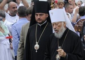 Митрополит Владимир просит Божьей помощи в расследовании взрыва в храме Запорожья