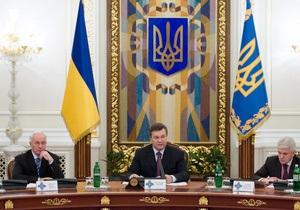 Янукович оценил прозрачность процесса принятия Налогового кодекса