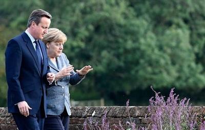 Меркель готова обсудить предложения Кэмерона по реформированию ЕС