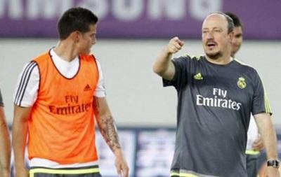 Хамес Родригес может покинуть Реал из-за Бенитеса