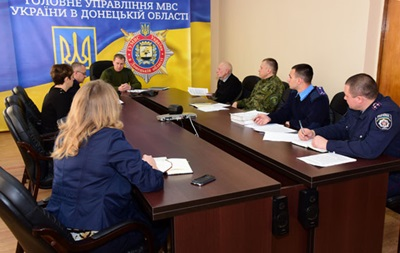 В МВД рассказали о процессе формирования полиции в Донецкой области