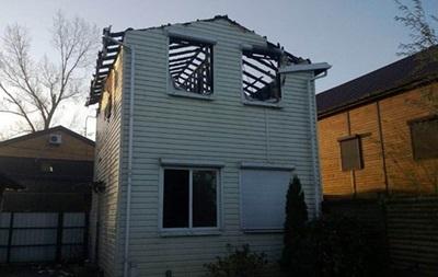 Олейник обвинил Порошенко в поджоге дома своего сына