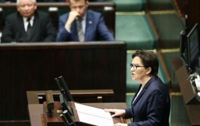 Правительство Польши ушло в отставку