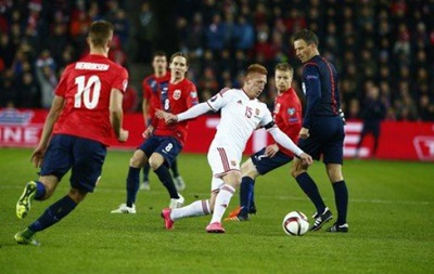 Норвегия дома уступила Венгрии в матче плей-офф квалификации Евро-2016