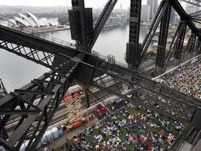 Фотогалерея: Пикник с коровами на Сиднейском мосту