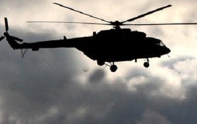 Крушение украинского вертолета в Словакии