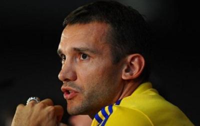 Шевченко: Сборная Украины заслуживает выход на Евро-2016