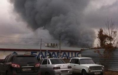 На харьковском рынке локализовали пожар