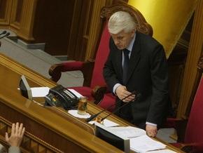 Литвин попросил суд обязать своего соратника сложить депутатский мандат