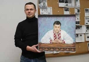 Сколько стоит Тягнибок? Картина для обложки Личность года: в Facebook продолжается аукцион Корреспондента
