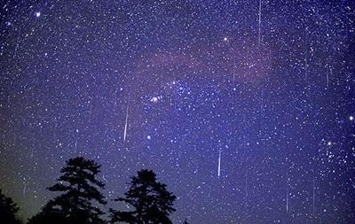 Украинцы смогут наблюдать метеорный поток Леониды