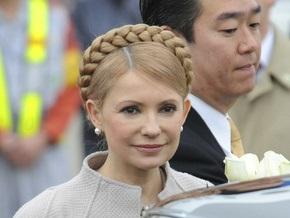 Тимошенко в Японии помолилась за преодоление кризиса