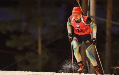 Украинские биатлонисты впервые потренировались под снегом