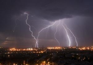 На Одессу обрушился ливень и сильный ветер