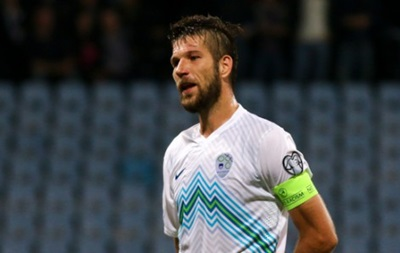 Капитан сборной Словении: Было сложно  давить  на Украину весь матч