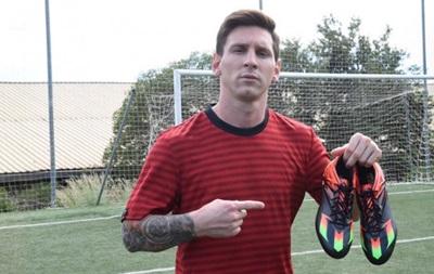 Месси сыграет с Реалом в новых бутсах от Adidas