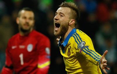 УЕФА включил четырех украинцев в символическую сборную плей-офф Евро-2016