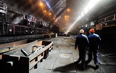 В Украине продолжает замедляться падение промпроизводства