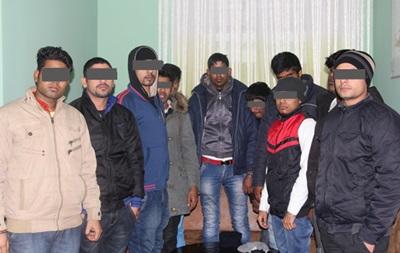 В Ровно задержали нелегалов из Индии и Шри-Ланки