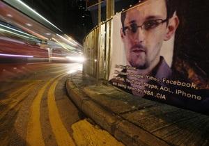 Правительство США обвинило Сноудена в шпионаже
