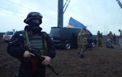 Полиция покинула место конфликта на Херсонщине