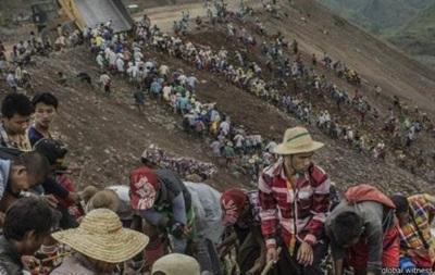 Число жертв оползня в Мьянме приближается к 100