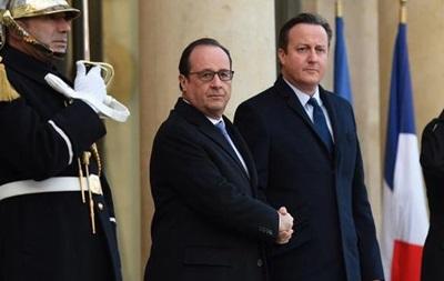 Франция и Британия усилят удары по ИГ в Сирии