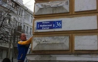 Рада получила право самостоятельно переименовывать города и улицы