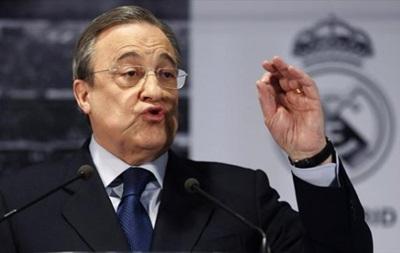 Президент Реала проведет срочную пресс-конференцию