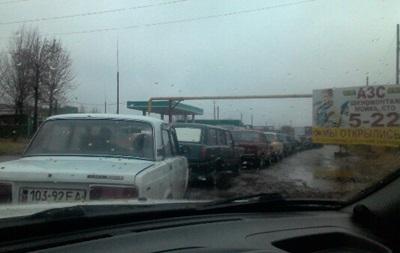 В подконтрольной ДНР Горловке закончился бензин