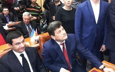 Новоизбранного мэра Запорожья встретили криками  Ганьба!