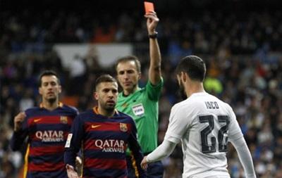 Иско дисквалифицирован на два матча чемпионата Испании