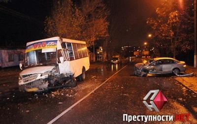 Восьмеро людей травмувалось внаслідок ДТП уМиколаєві