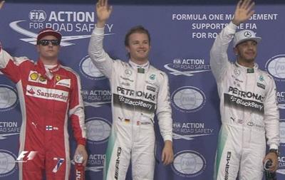 Росберг уверенно выигрывает квалификацию на Гран-при Абу-Даби
