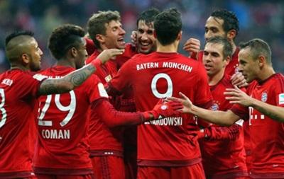 Бавария без проблем обыграла Герту