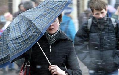 Украинцев ждут мокрый снег и дождь