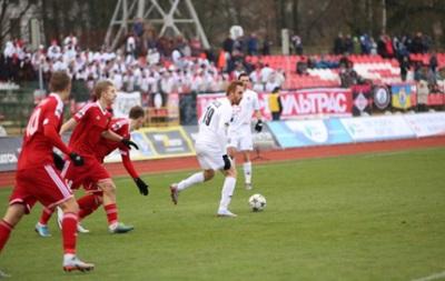 Волынь забила девять голов в ворота запорожского Металлурга