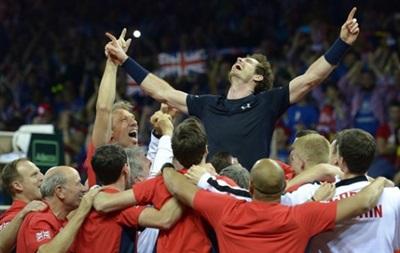 Великобританія вперше з 1936 року завоювала Кубок Девіса