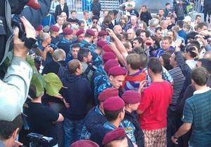 Thank you, people of Donbass: Спецназ попытался взять в оцепление участников ярмарки на Майдане