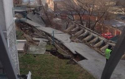 Возле дома в Киеве произошел оползень - мэрия