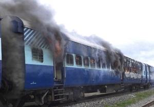 После гибели 37 почитателей Шивы толпа подожгла вагоны и захватила железнодорожников