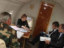 Тимошенко отправилась в Тернопольскую область