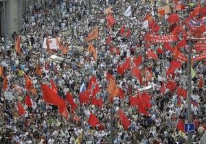 ЦСР: россияне стали говорить о желательности революции