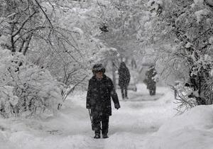 В Украину возвращаются снегопады - прогноз погоды - похолодание