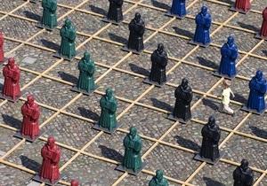 В Германии установили 800 скульптур Мартина Лютера